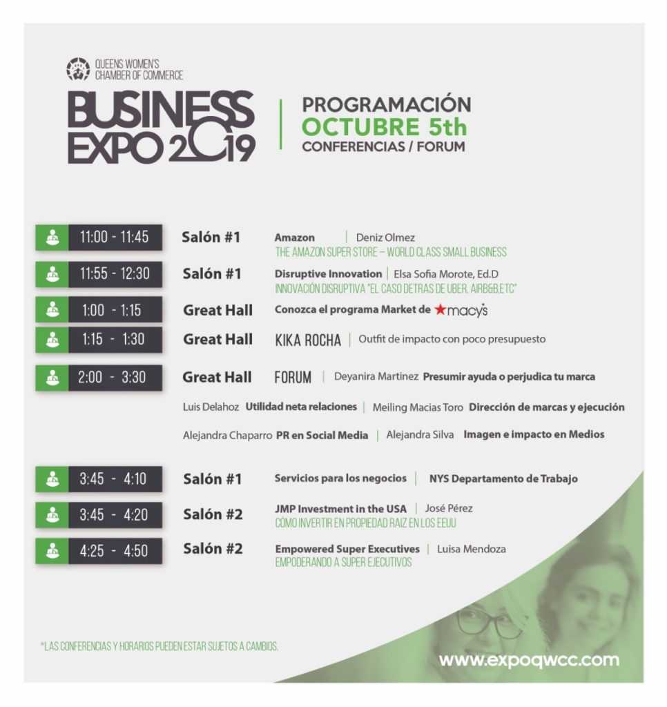 5th October Biz Expo -Conference - Program 1002-19-2